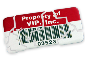Security Labels -- Destructible Vinyl